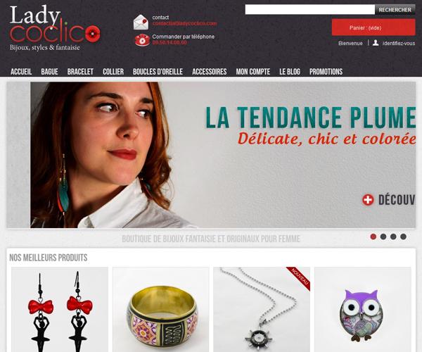 Boutique de bijoux Lady Coclico
